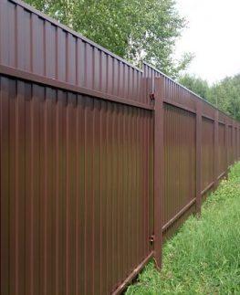 Заказать забор с установкой под ключ в Москве - МСК Забор