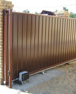 Купить откатные ворота в Москве